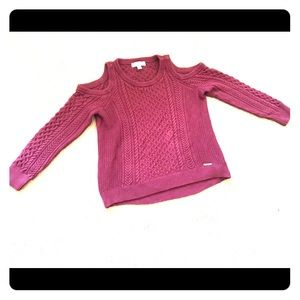 Raspberry Michael Kors sweater